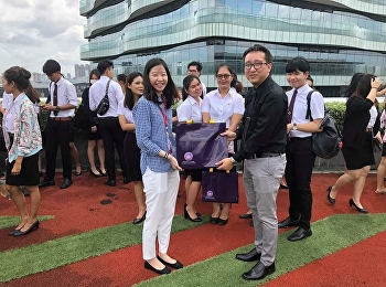 International Business Faculty's Corporate Communication Study Visit Siam Cement Group Thailand 26th Oct 2018