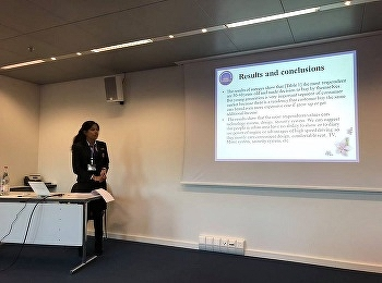 International Business Student Presented at ICBTS Conference, Lucerne Switzerland 12th-14th December 2018