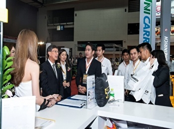 International Business Students Visited Material Handling and Machinery Exhibition 2019Mueng Thong Thani, Bangkok 6th-9th March 2019
