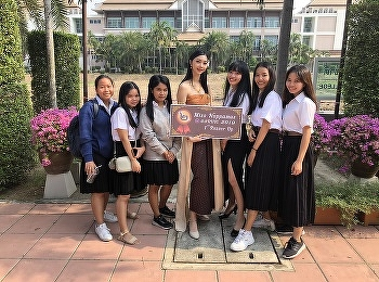 Miss Noppamas Contest 2019 International College 8 Nov 2019